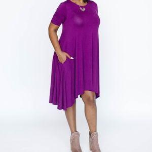 Agnes & Dora Purple Joplin - Dress Large